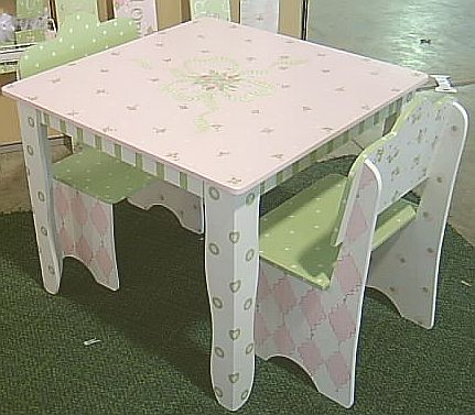 Our Newest Childrens Table And Chair Set Is Still In Our Most Popular  Design. Perfect For Childrenu0027s Tea Partyu0027s, As Well As Everyday Play.