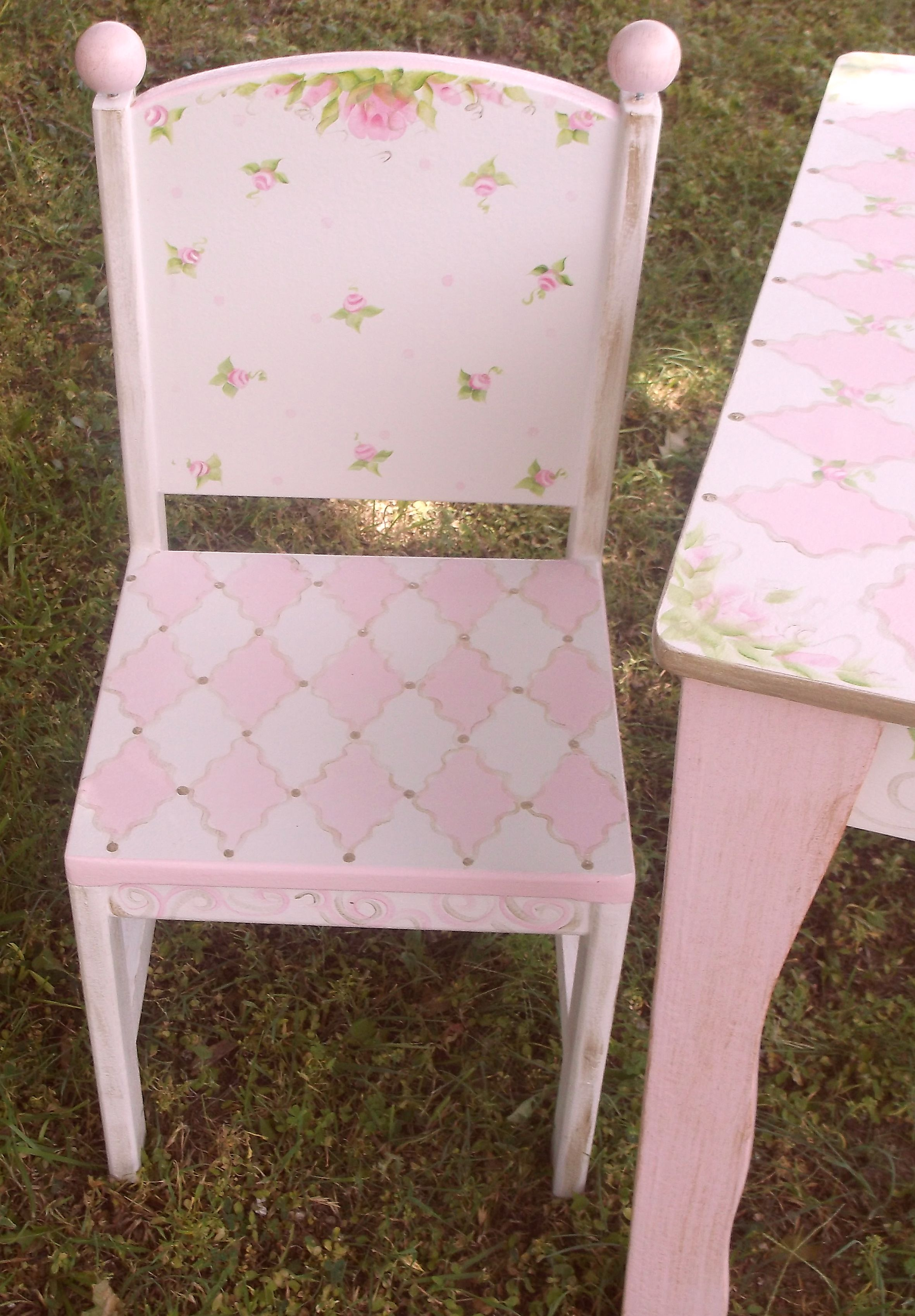 Childrens Table And Chair Set Tea Party Kids Table Chairs