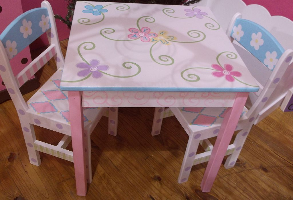 Childrens Table And Chairs Tea Party Tables Bird And Owl